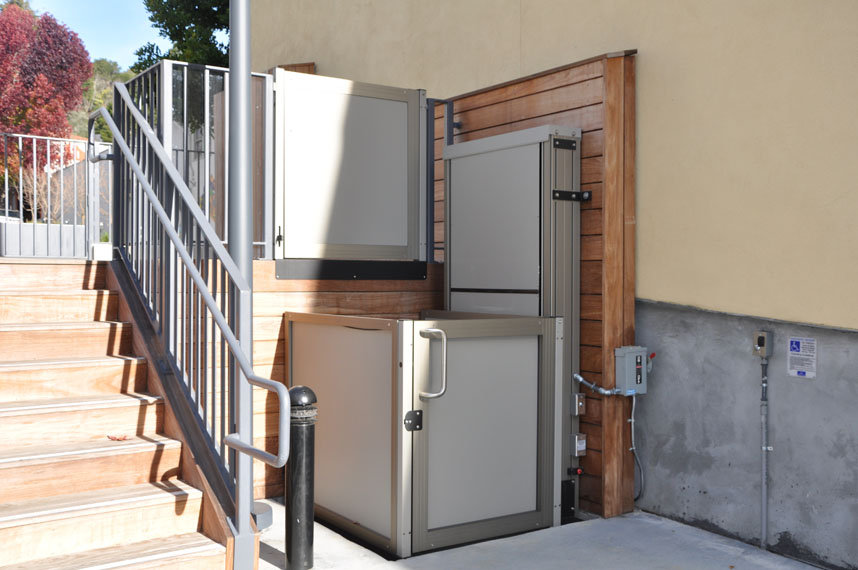 Vertical wheelchair lifts for home choice image diagram for Www garaventalift com